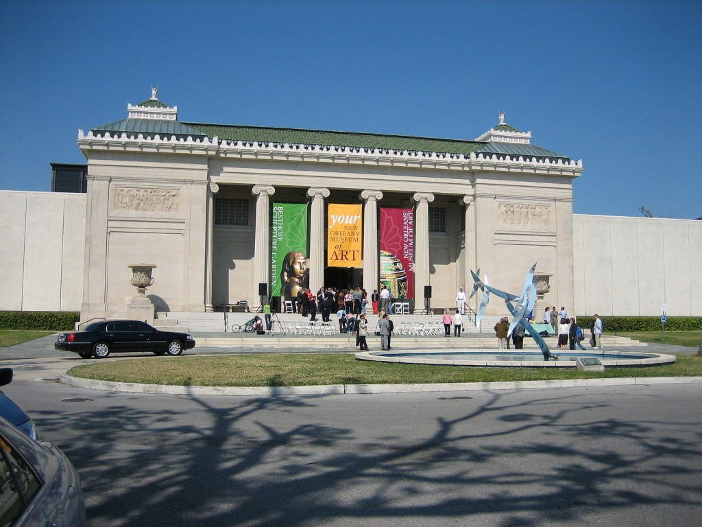 New Orleans Museum of Art, reopening day, 3 March 2006; first day back open since Hurricane Katrina | © Infrogmation of New Orleans/WikiCommons