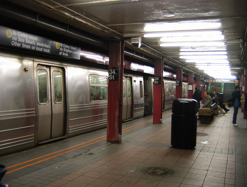 NYC Subway 34th Street | © Wikipedia Commons