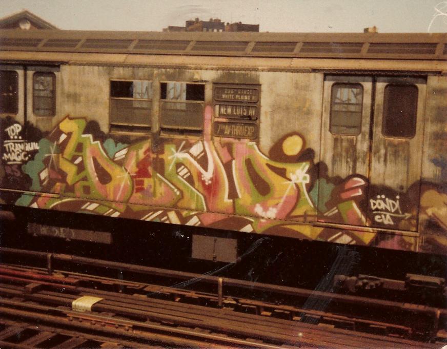 Dondi 1979 (IRT express train) | JJ & Special K / Flickr