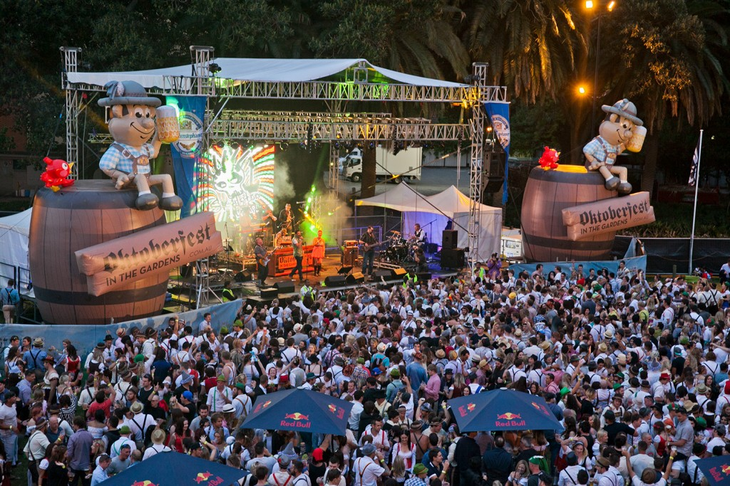 Oktoberfest in the Gardens, Perth 2014 | Courtesy of Nokturnl Events