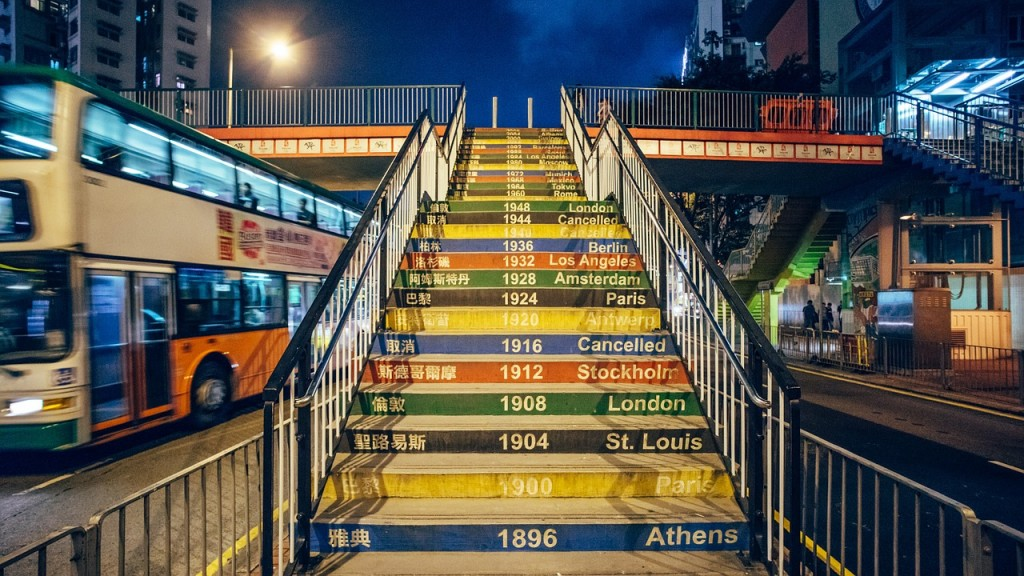 Olympic Stairwell © ksobolev0/Pixabay