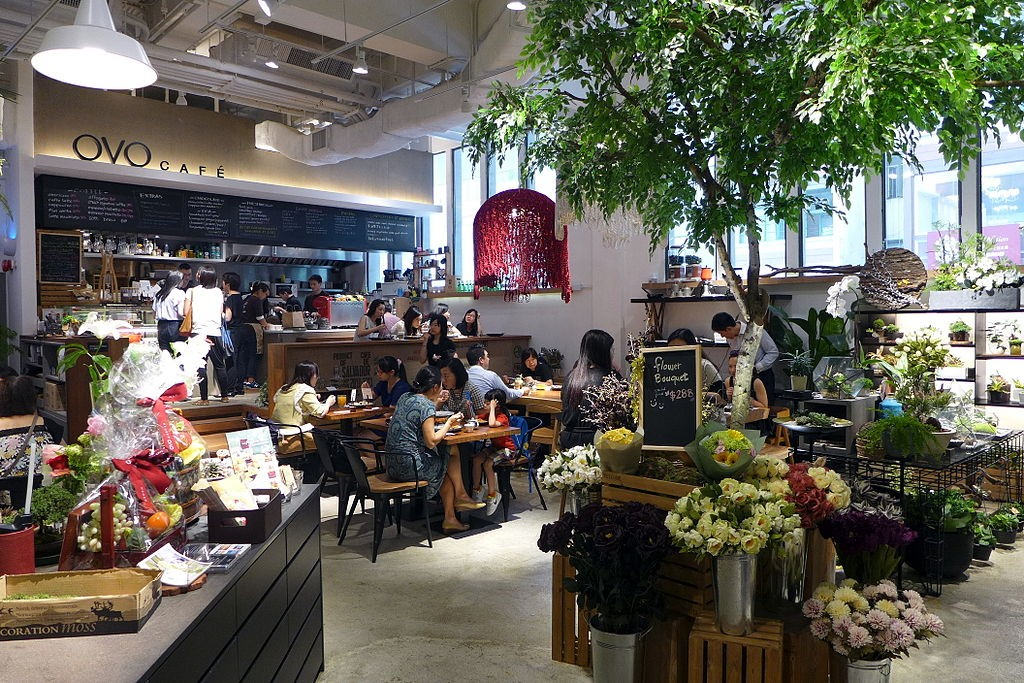 OVO Café in Wanchai. | © Wing1990hk/CC BY 3.0/Wikimedia Commons