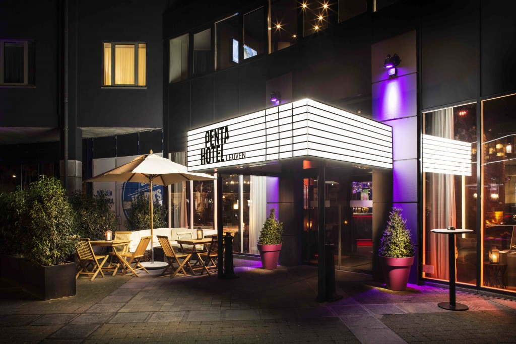 Among the newer trendy places to settle down in Leuven is Pentahotel | Courtesy of Pentahotel