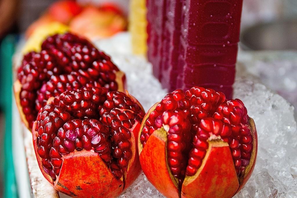 Pomegranate juice/Courtesy of Pixabay