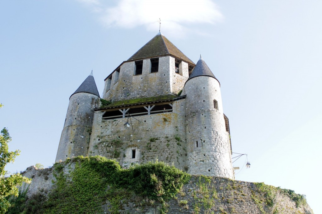 Caesar's Tower in Provins