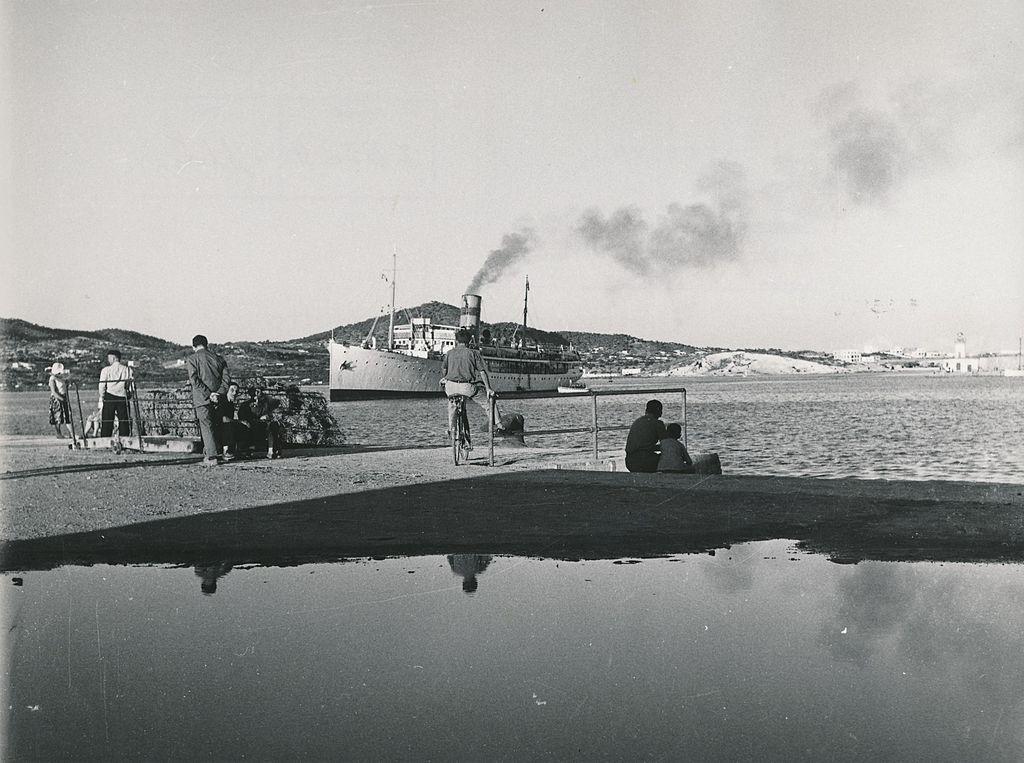 Ibiza port in the 1960s | © Biblioteca de la Facultad de Empresa y Gestión Pública Universidad de Zaragoza