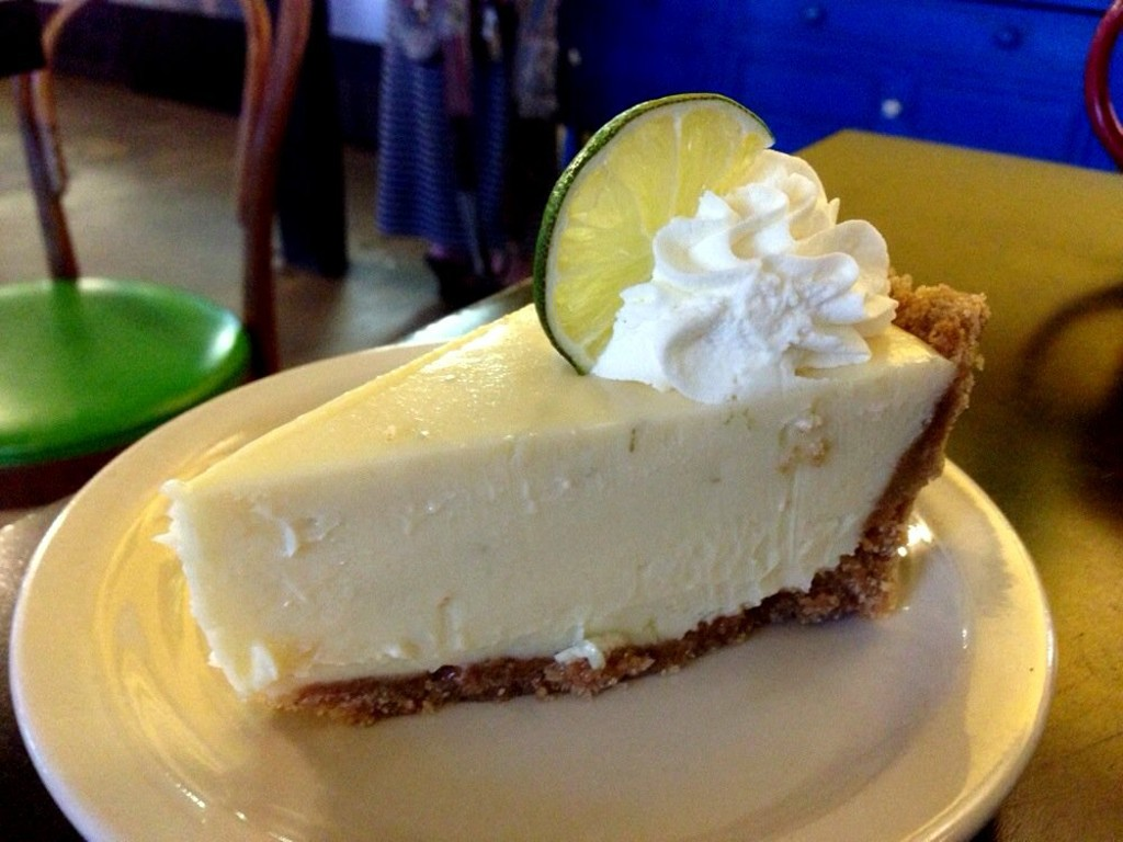 Key Lime Pie at Quack's 43rd Street Bakery | Courtesy of Dan Brennan