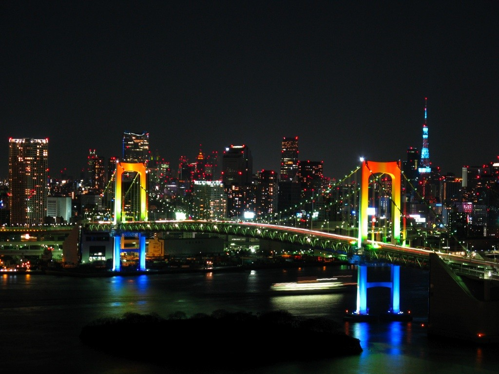 Hilton Hotel Odaiba offers great views of Tokyo Bay and the Rainbow Bridge | © Gussisaurio/WikiCommons
