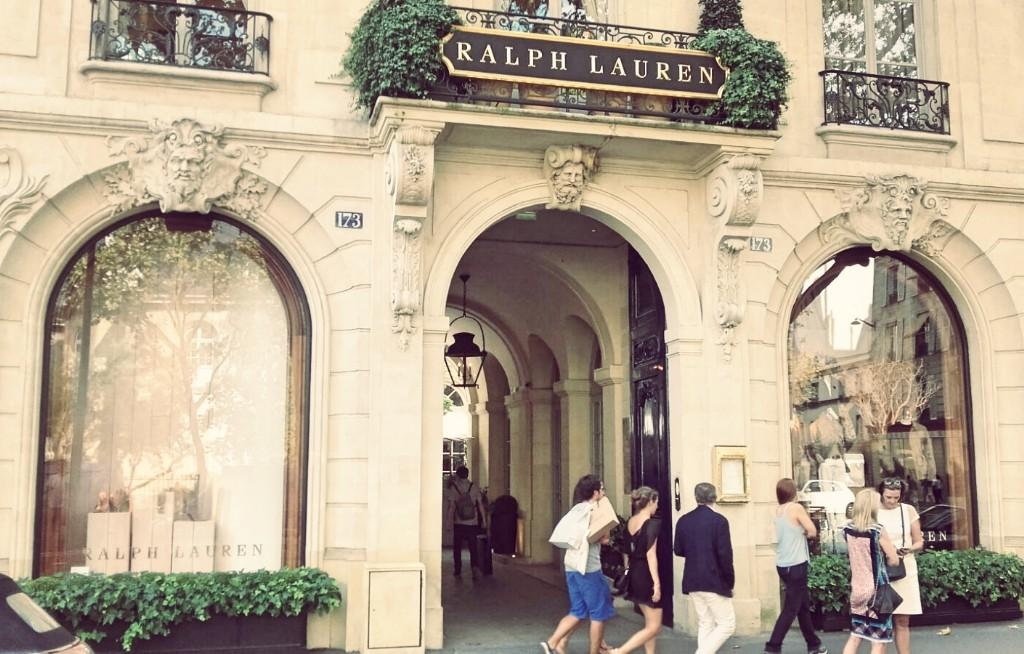 Ralph Lauren store Saint-Germain │ Courtesy of Paul McQueen