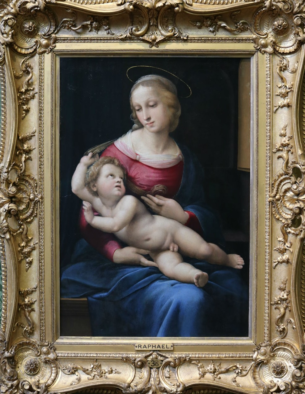 Raphael (Raffaello Sanzio), The Bridgewater Madonna, About 1508   Courtesy Of Tori Chalmers