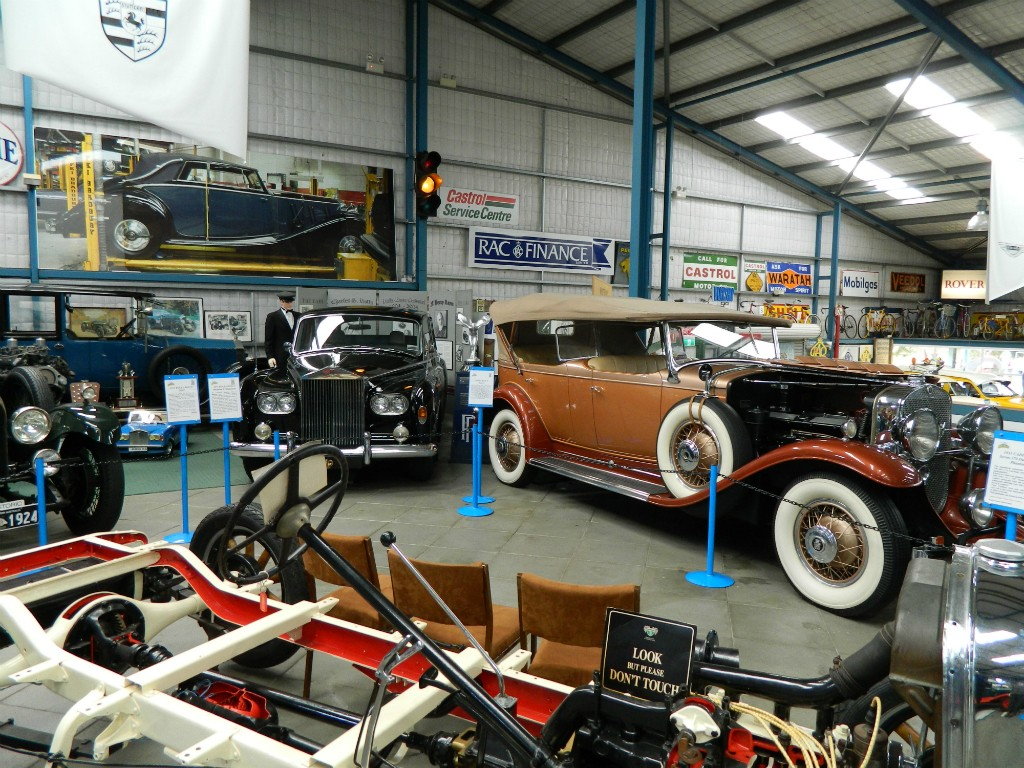 Rolls Royce and Cadillac | Courtesy of Motor Museum