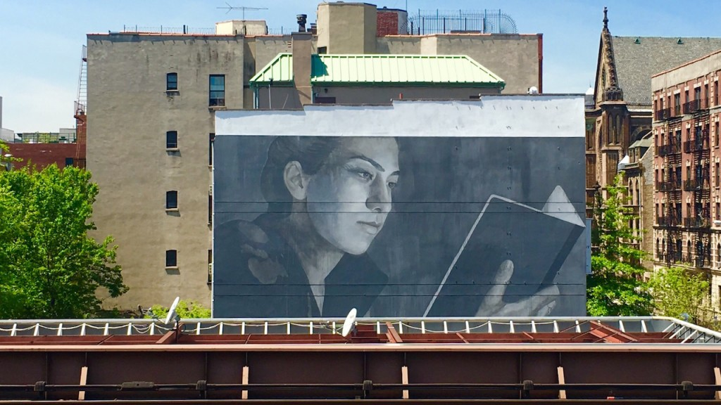 Mural by Australian Artist Rone   © Not A Crime Campaign