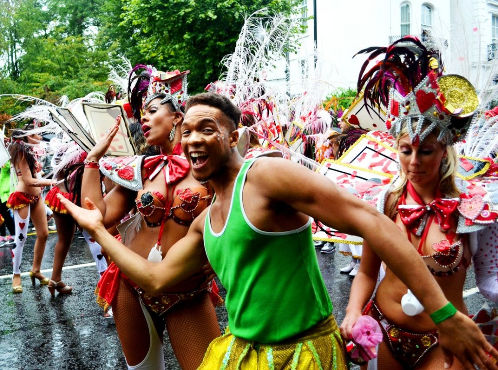 Dancers at Notting Hill Carnival|© David Sedlecký/Wikicommons
