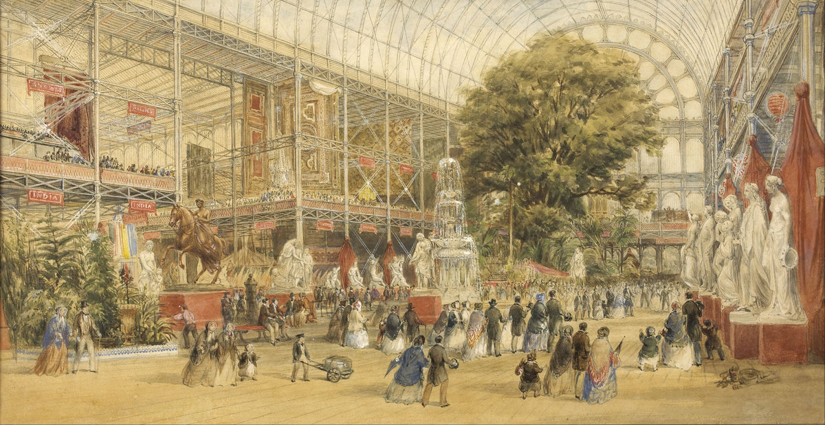 Queen Victoria opening the 1851 Universal Exhibition, at the Crystal Palace in London, by Thomas Abel Prior 1851, photographed by Patrice Schmidt| © Musée d'Orsay, dist. RMN /Musée d'Orsay