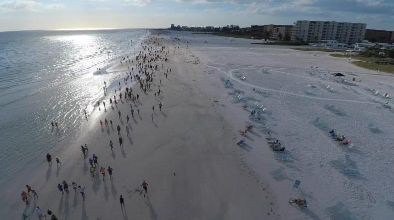 Siesta Beach Fun Run 2016 on Vimeo | © Pedro Ramos/Vimeo
