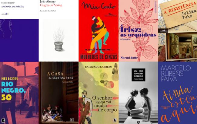 Brazilian longlist covers