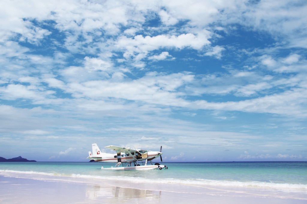 Seaplane, Whitehaven Beach, QLD | Courtesy of One&Only Hayman Island