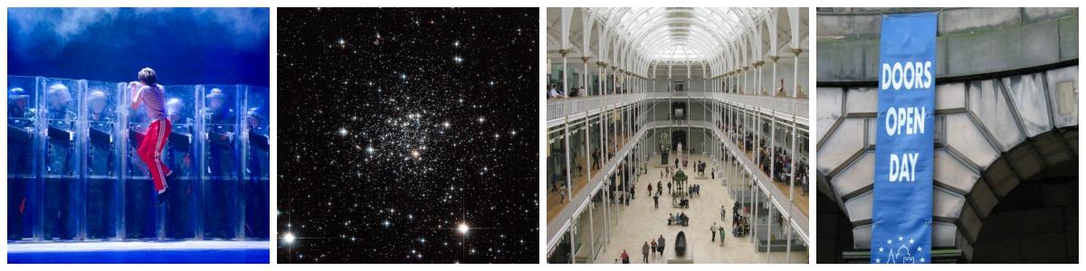 Courtesy of Alastair Muir | © Hubble ESA/Flickr | © M J Richardson/Geograph | © Callum Black/Geograph