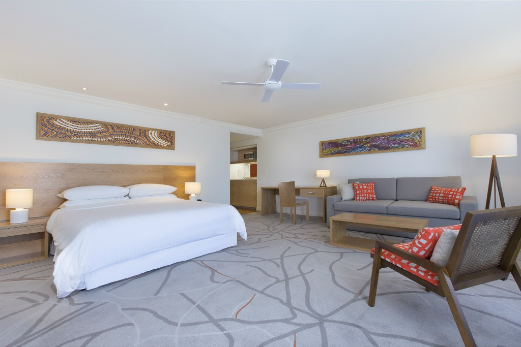 Guest Room | Courtesy of Sofitel Noosa Pacific Resort