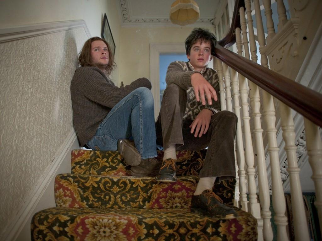 Jack Reynor and Ferdia in Sing Street (Lionsgate)