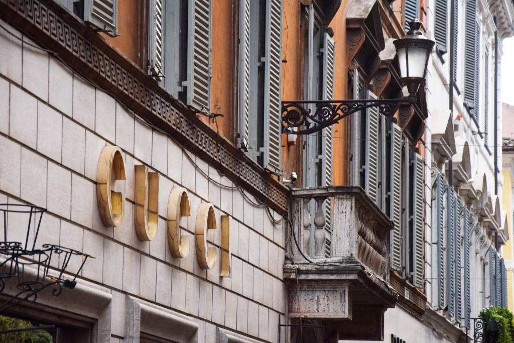Gucci on Via dei Condotti | © Marie Elkind/Flickr