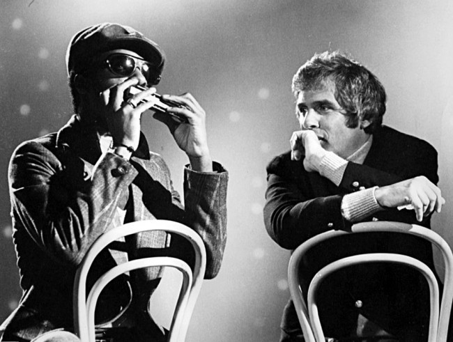Jam session photo with Stevie Wonder and Burt Bacharach | Public Domain