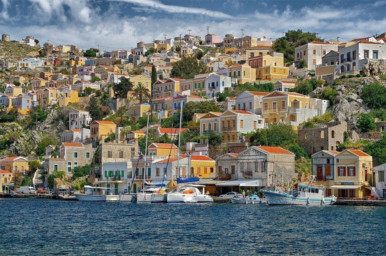 Arriving in Symi | © tpsdave/PixaBay