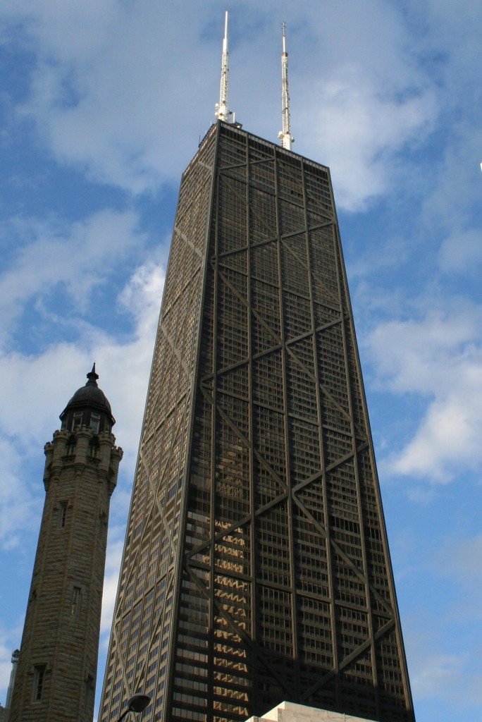 John Hancock Center, courtesy of Wikimedia Commons