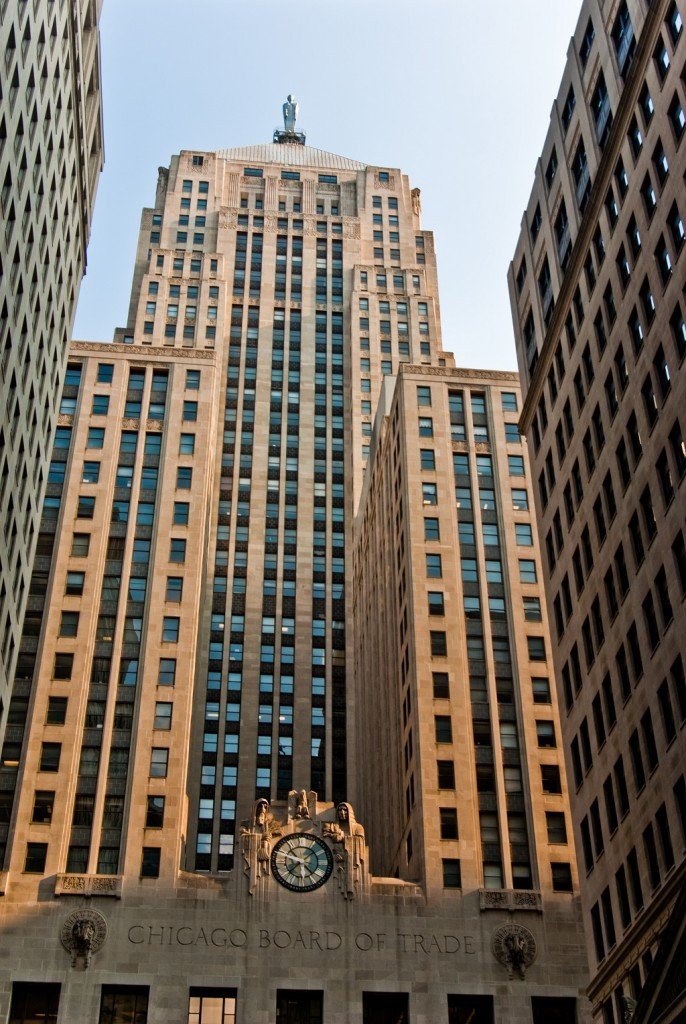 Chicago Board of Trade Building, courtesy of Wikimedia Commons