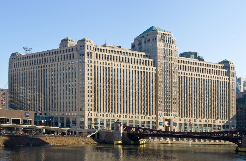 Merchandise Mart, courtesy of Wikimedia Commons