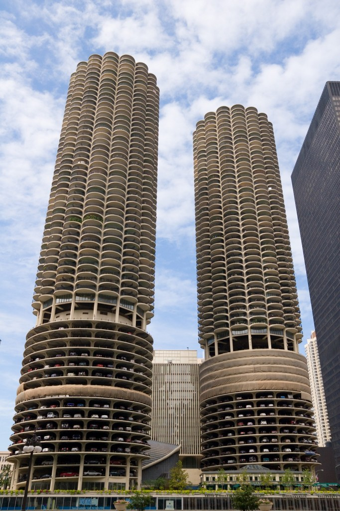 Marina City, courtesy of Wikimedia Commons