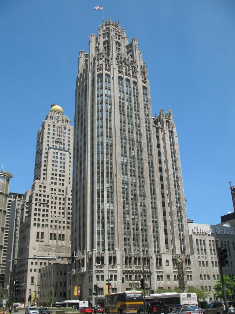 Tribune Tower, courtesy of Wikimedia Commons