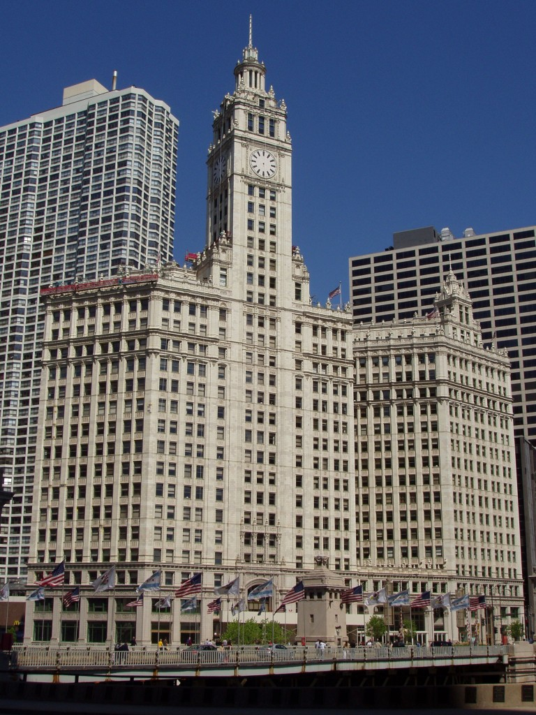 The Wrigley Building, courtesy of Wikipedia