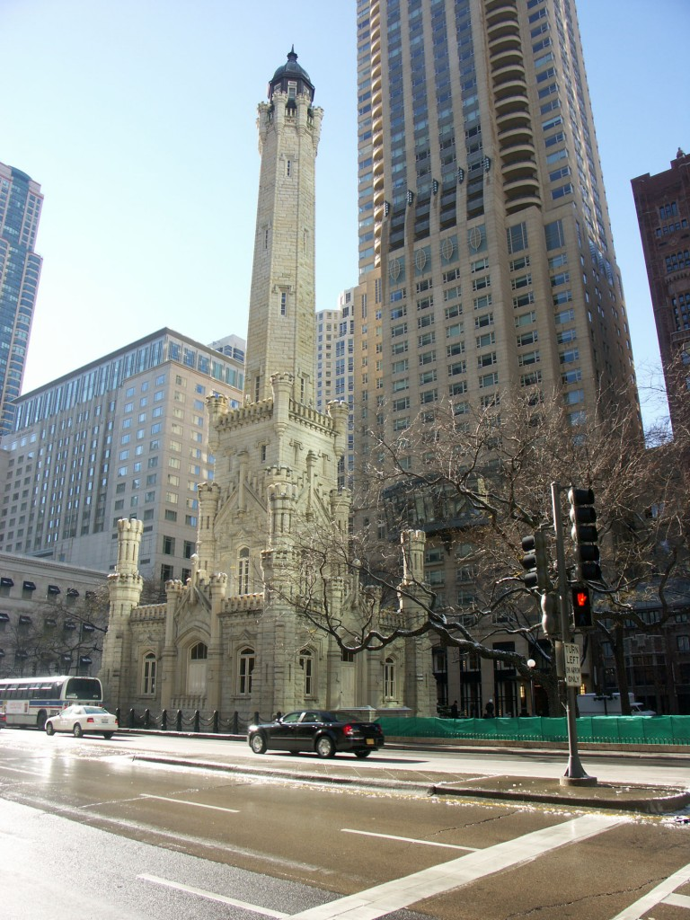 Chicago Water Tower, courtesy of Wikimedia Commons