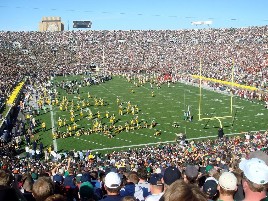 Notre Dame Stadium, courtesy of Wikipedia