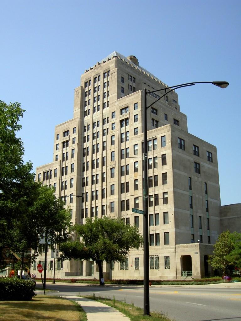 Mundelein Center, courtesy of Wikimedia Commons