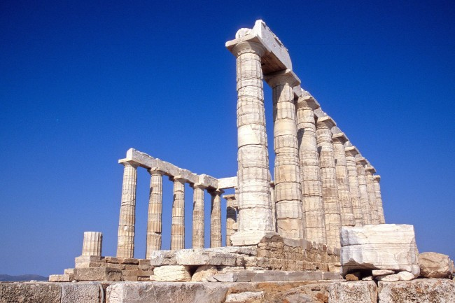 Temple of Poseidon, Sounion © Olecorre/WikiCommons