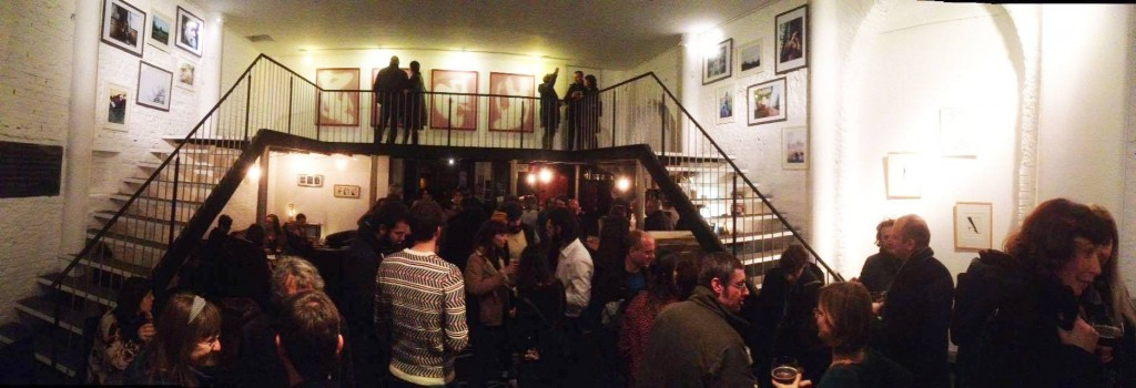 A busy night at THANKSgalerie | Courtesy of THANKSgalerie