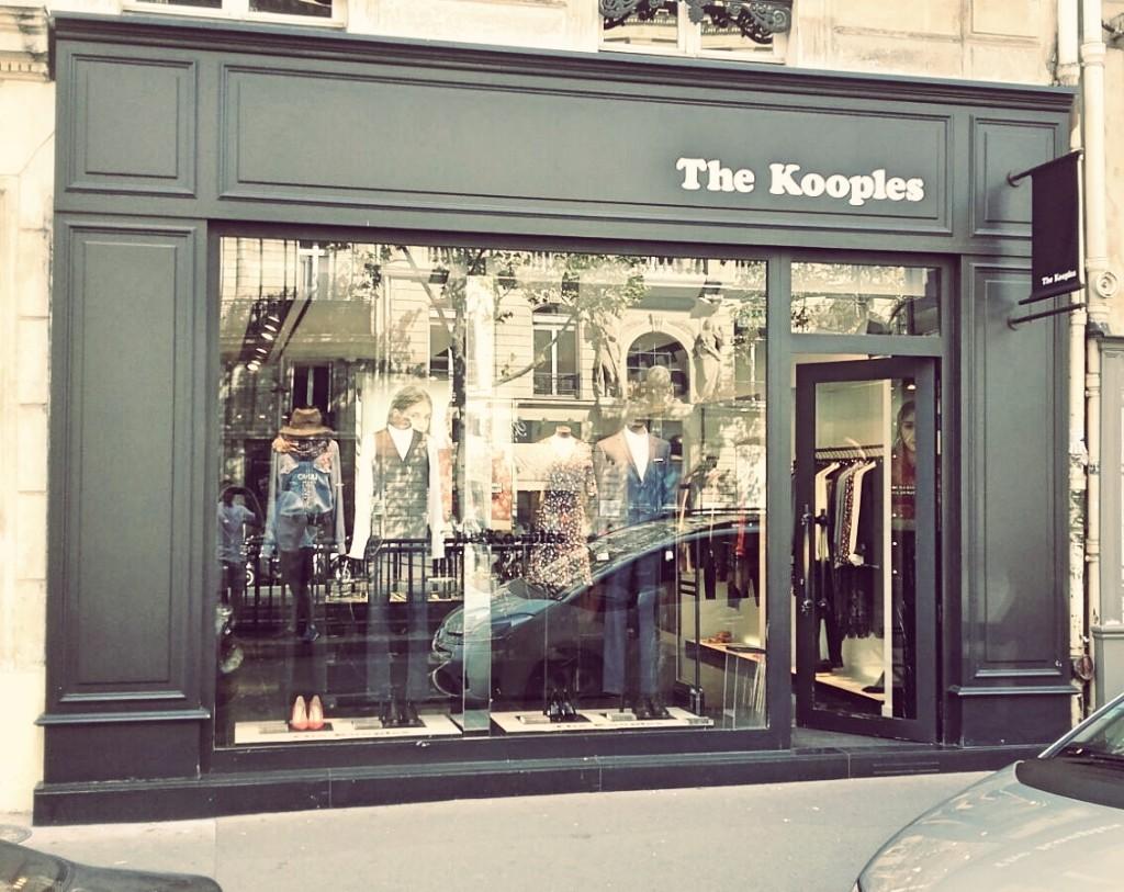 The Kooples store Saint-Germain │ Courtesy of Paul McQueen