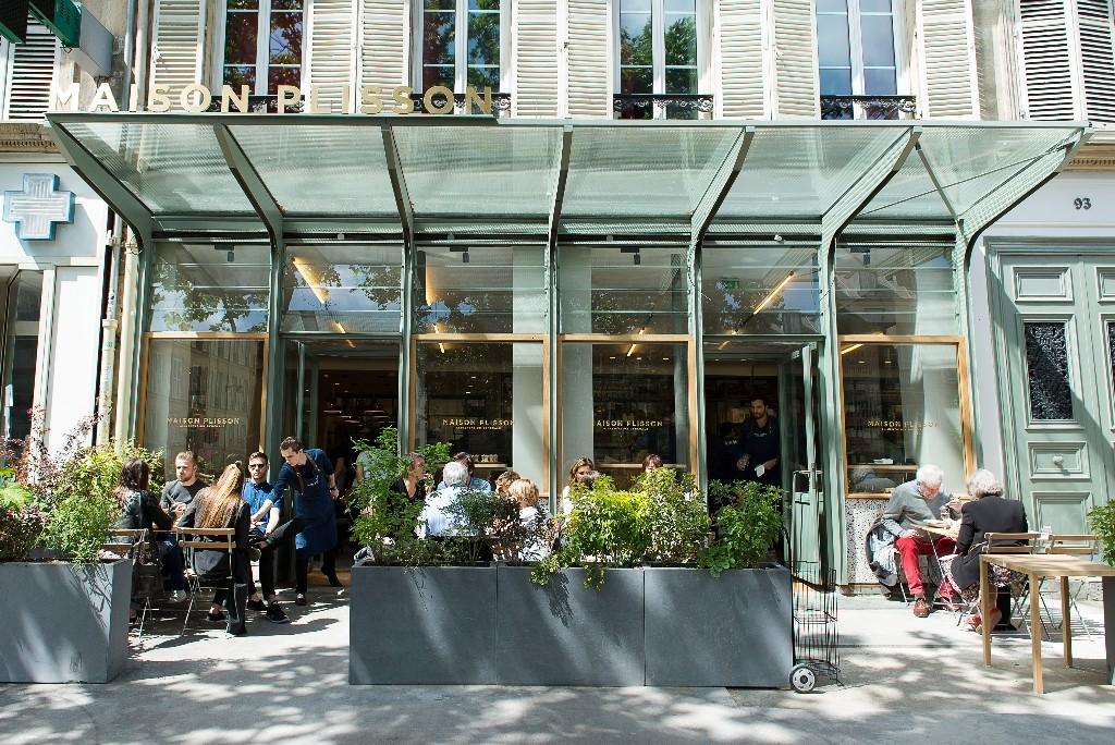 The terrace at Maison Plisson │ Courtesy of Maison Plisson and JP Baltel