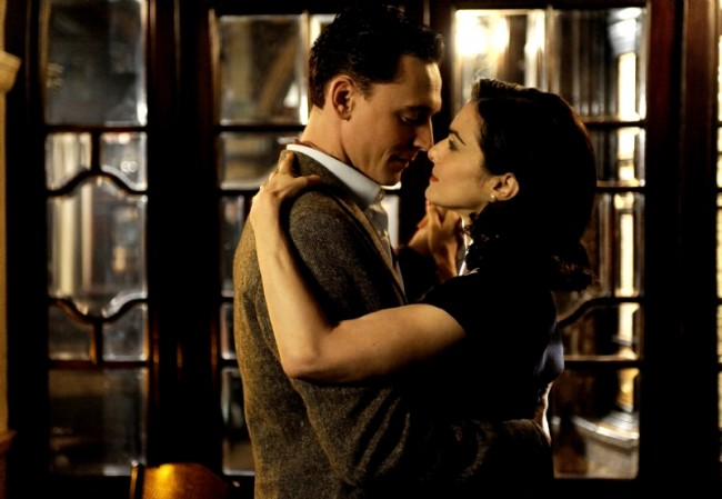 Weisz with Tom Hiddleston in 'The Deep Blue Sea.' (© Music Box Pictures)
