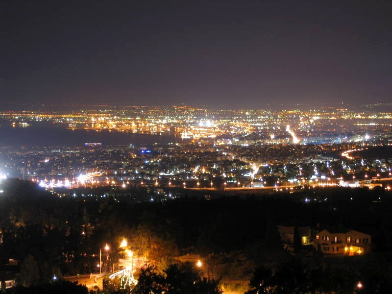 Thessaloniki from Panorama   © Salonica84/WikiCommons