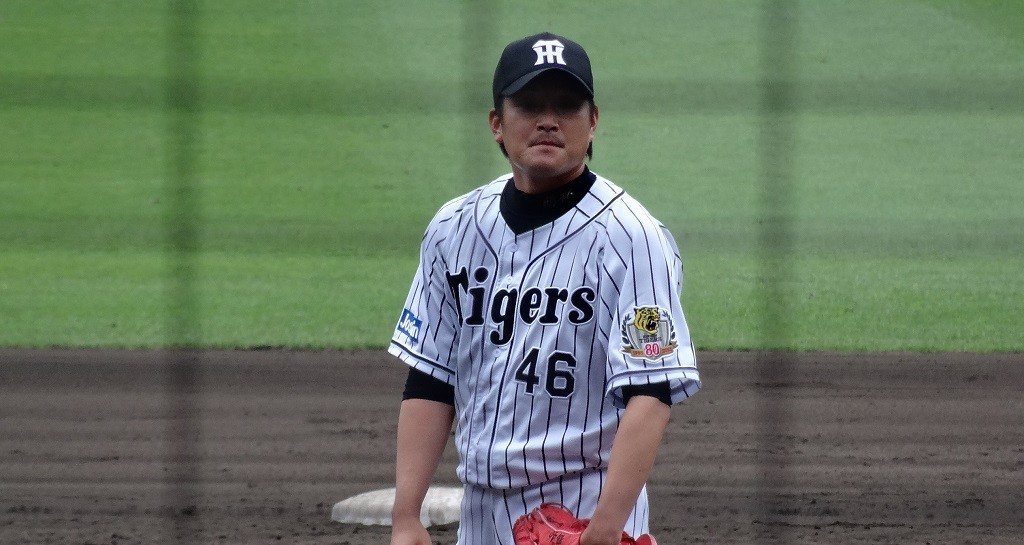 The Tigers are known to have the most fanatical supporters out of all the Japanese baseball teams. Picture here, Naoto Tsuru, pitcher | © 途方シネマズ/WikiCommons