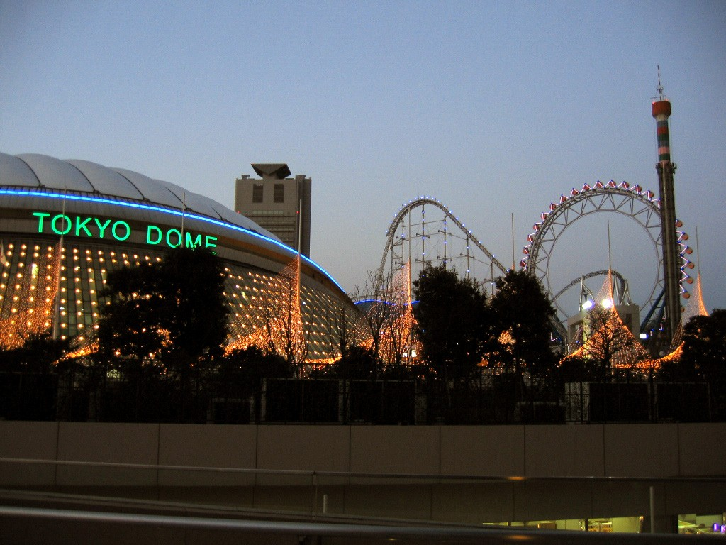 Venues like the Tokyo Dome will help host the Summer Games | © Trenchcoatjedi/WikiCommons