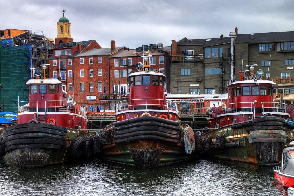 Tugboats in Portsmouth | © Mr/TinDC / Flickr
