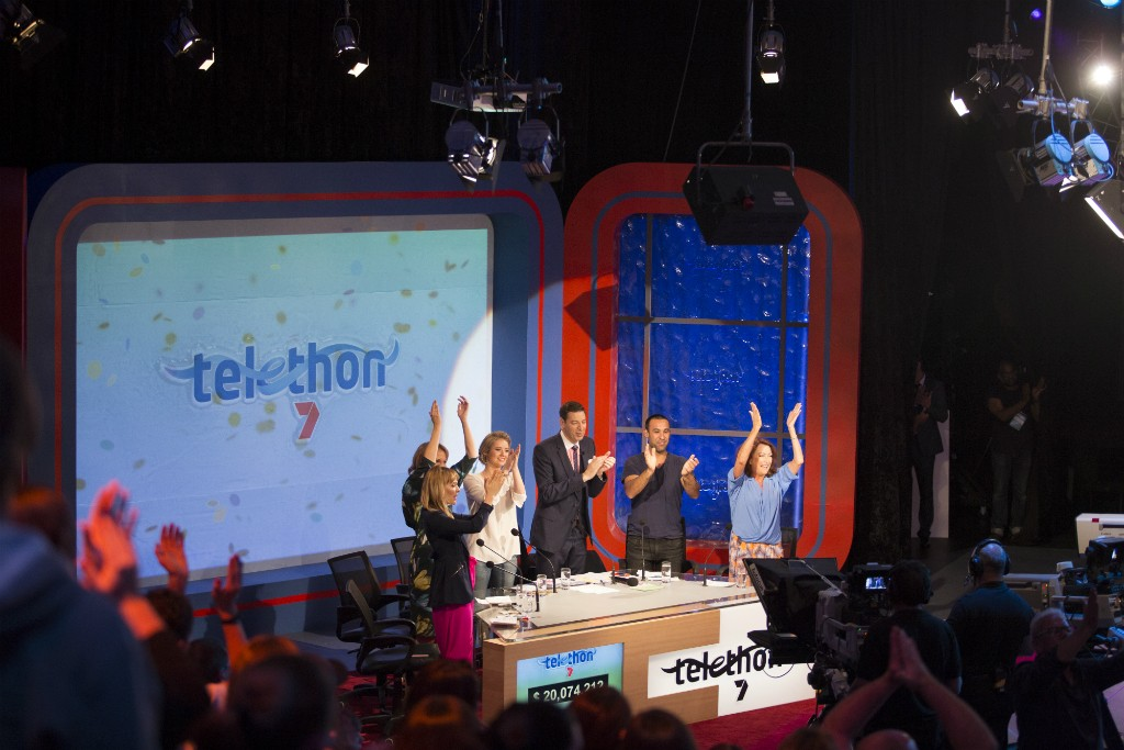 Celebrations at Telethon 2015 | Courtesy of Telethon