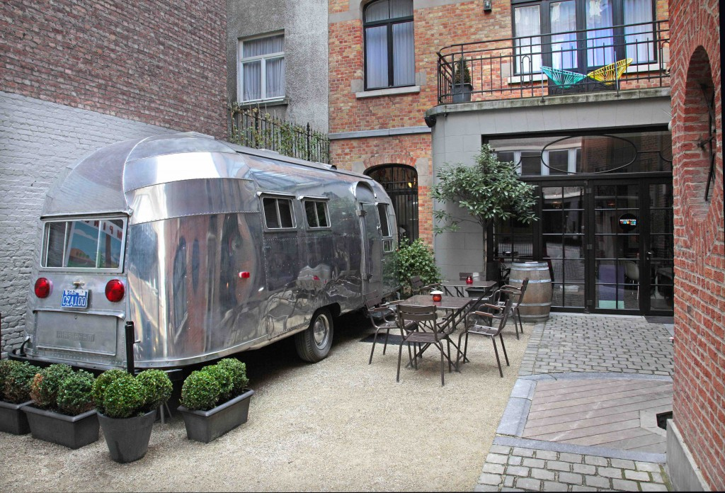Get your glamp on in Brussels' Vintage Hotel and camp in style | Courtesy of Vintage Hotel