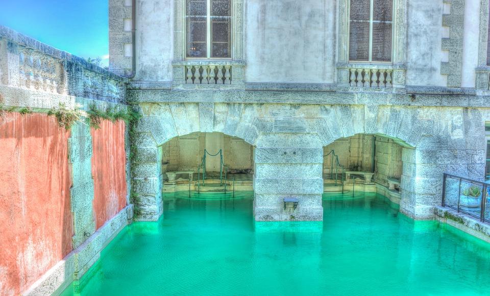 A look at one of the Vizcaya Villa's most beautiful pools