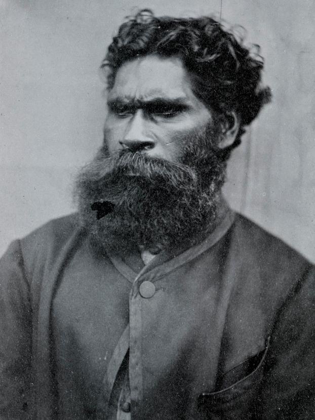 Indigenous Australian activist William Barak, 1866 | © Carl Walter / WikiCommons