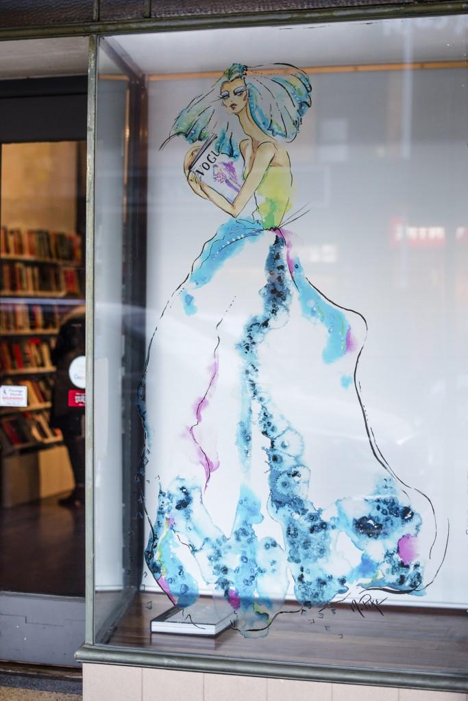 Northside Books - Windows Of The City, 2016. Telstra Perth Fashion Festival. | © Mac1Photography